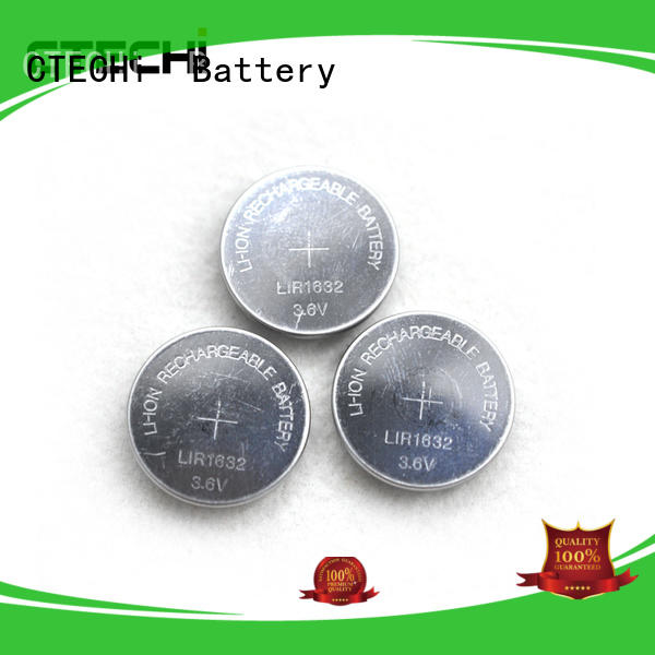 rechargeable button battery performance for car key CTECHi