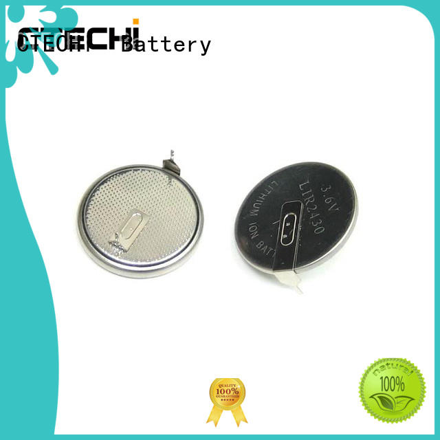 electronic lithium button cell batteries rechargeable design for car key