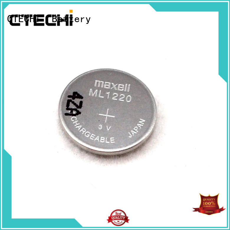 CTECHi rechargeable coin cell manufacturer for household