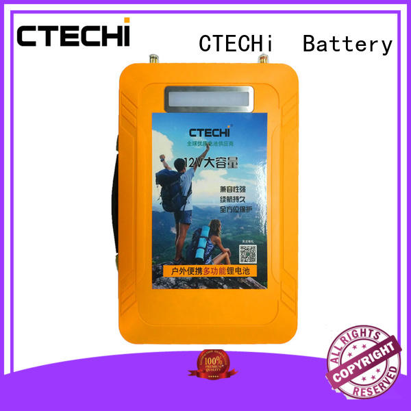 CTECHi 200ah lifepo4 battery series for golf car