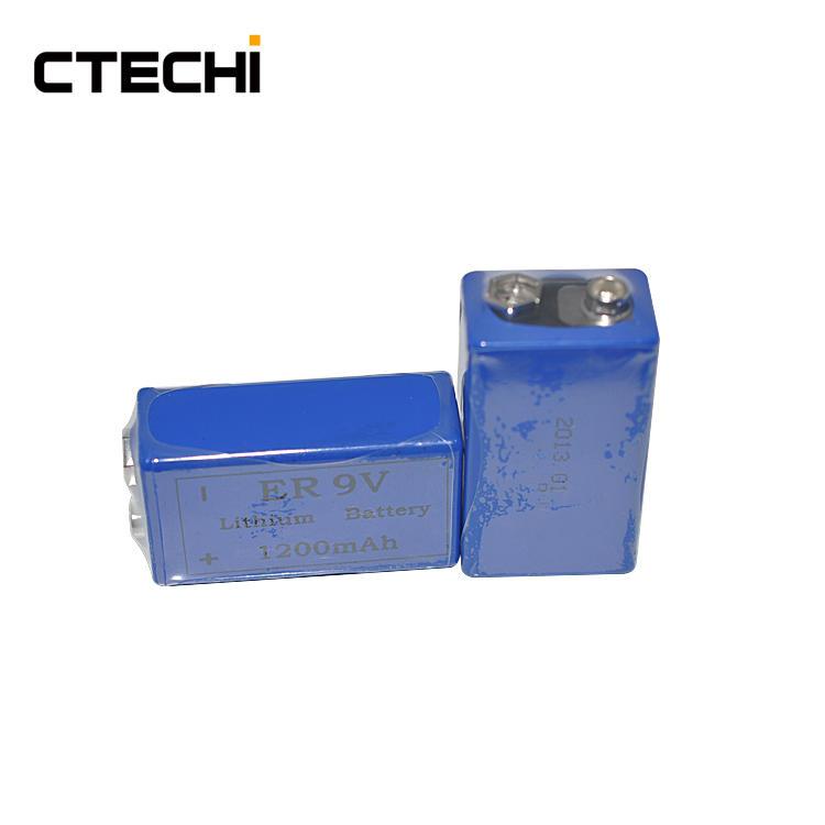 Primary ER lithium battery 9V