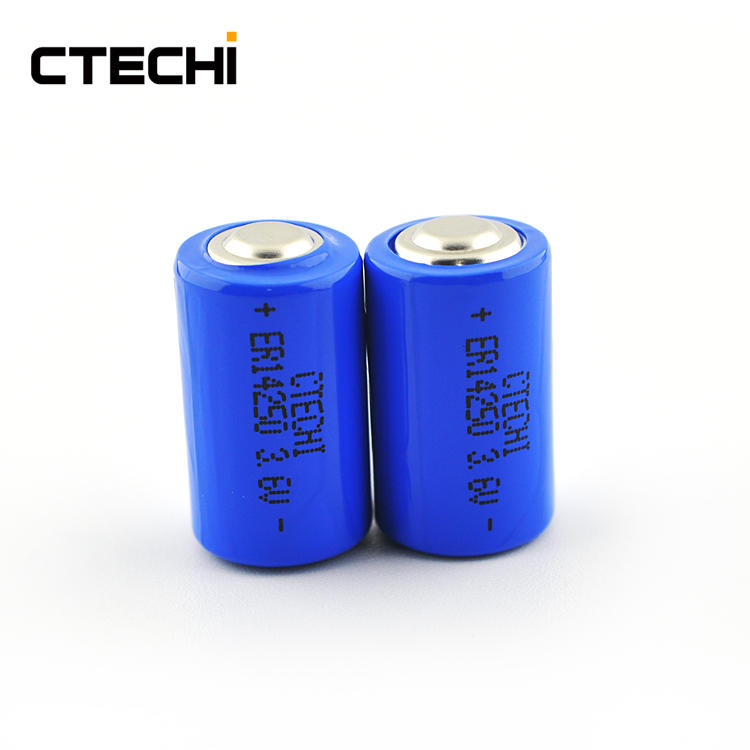 Electric meter high capacity primary battery ER14250 Suppliers
