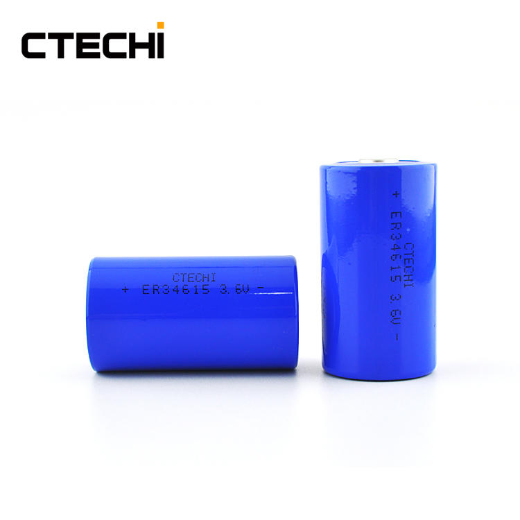 Large capacity lithium cylindrical primary battery ER34615 Manufacture