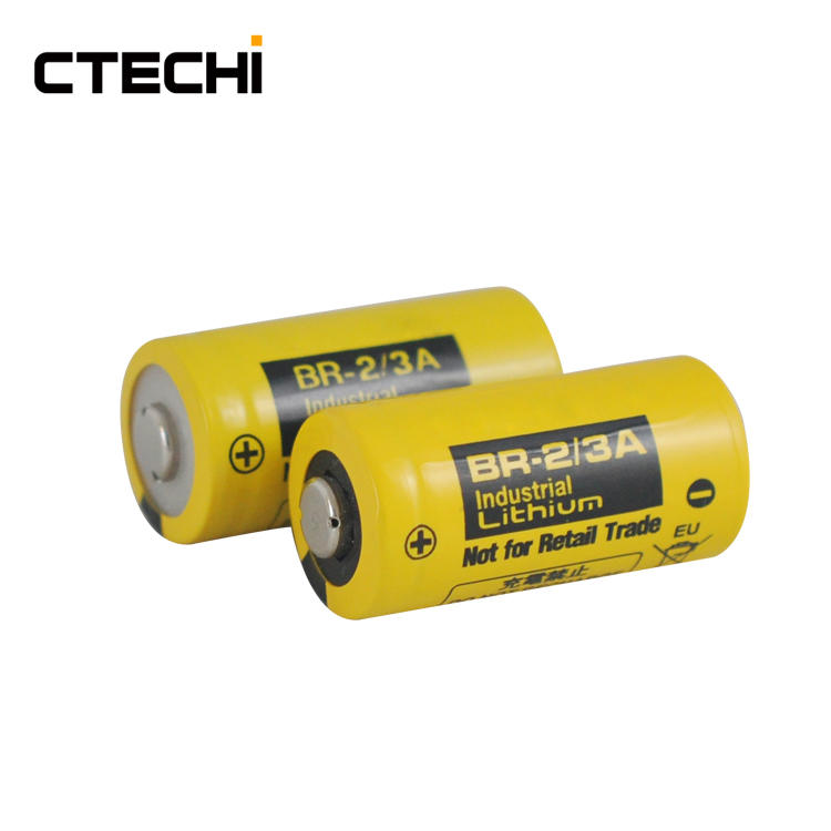 High temperature lithium battery BR-2/3A