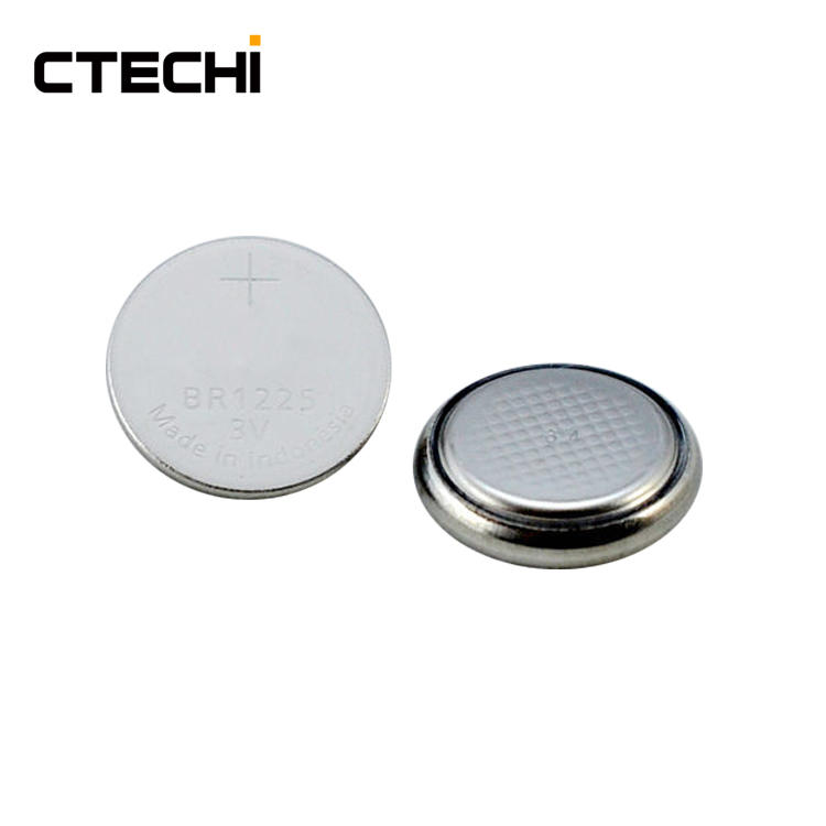 High temperature button primary lithium battery BR1225 Manufacture