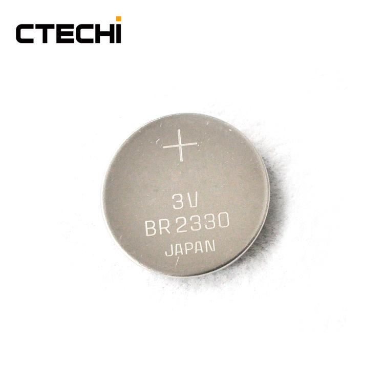 high performance primary button lithium battery BR2330 Manufacture