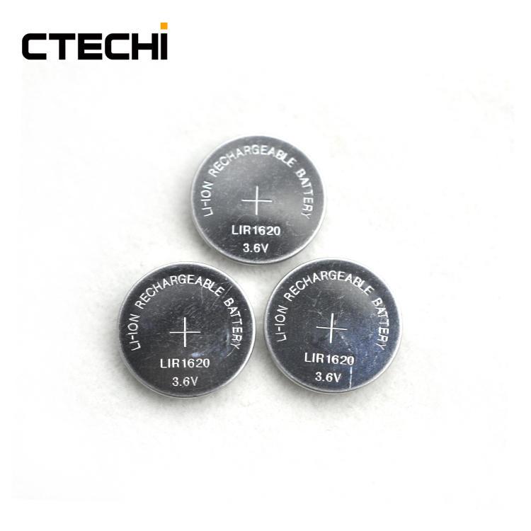 high power lithium battery 3.6V LIR1620
