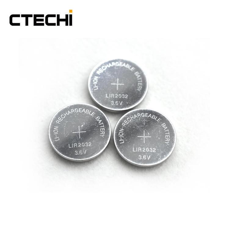High performance motherboard battery LIR2032