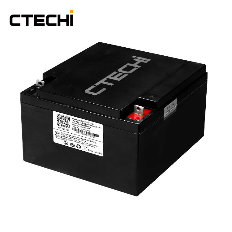 Small LiFePO4 energy storage battery pack 24V 15Ah