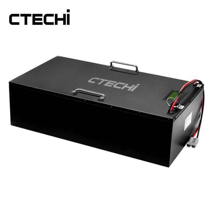 High service life golf car LiFePO4 battery pack 48V 100Ah