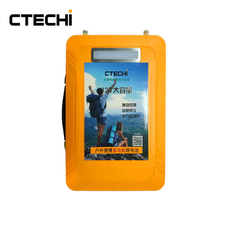 Portable outdoor travel light LiFePO4 battery pack 13.2V 40Ah
