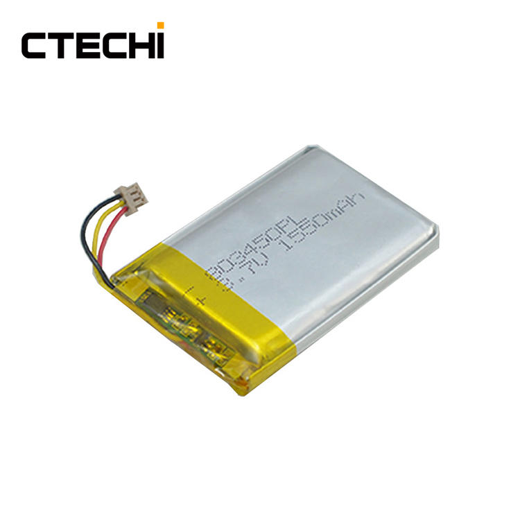 High capacity lithium polymer battery PL803450 3.7V