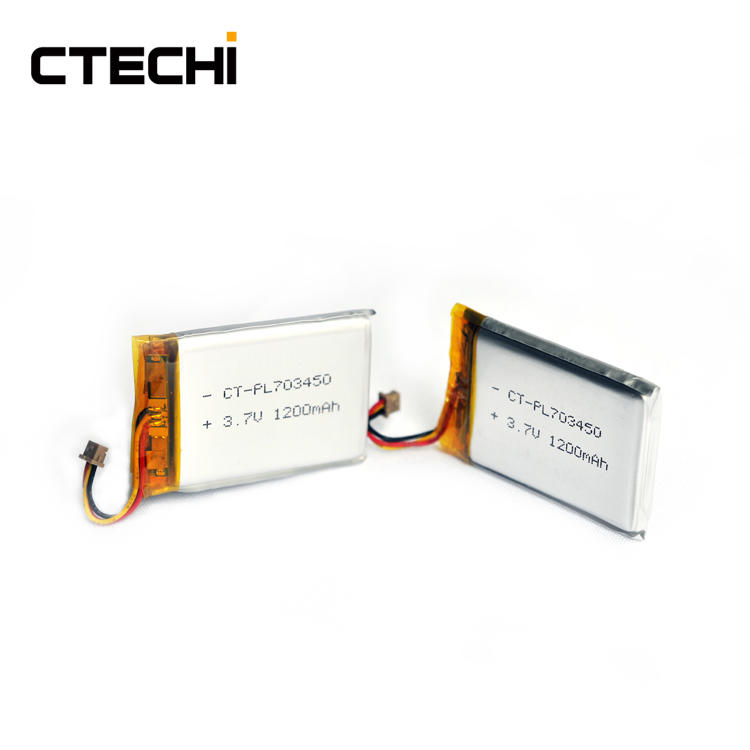 Hot Sell Smart tablet lithium polymer battery PL703450 3.7V Manufacture