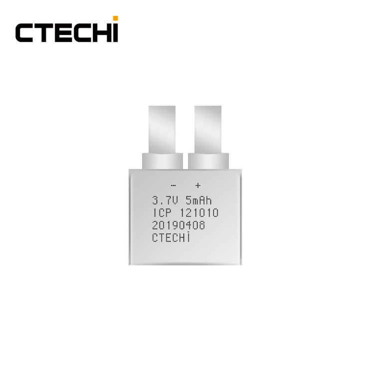Hot Sell 3.7V 5mAh Smallest Thin Film Cell OTP Card Film Battery