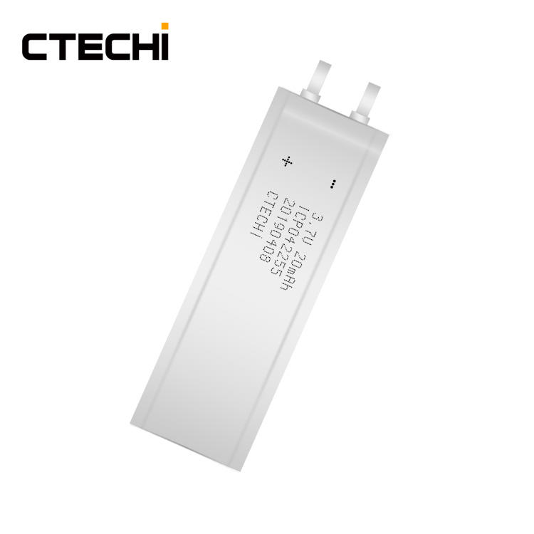 Factory 3.7V 20mAh Smart Cards Rechargeable Micro Thin Battery