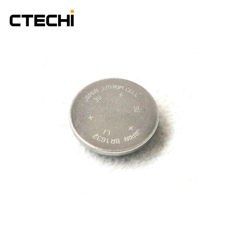 3V 120mAh BR1632 TPMS Device Battery Primary Button Cell