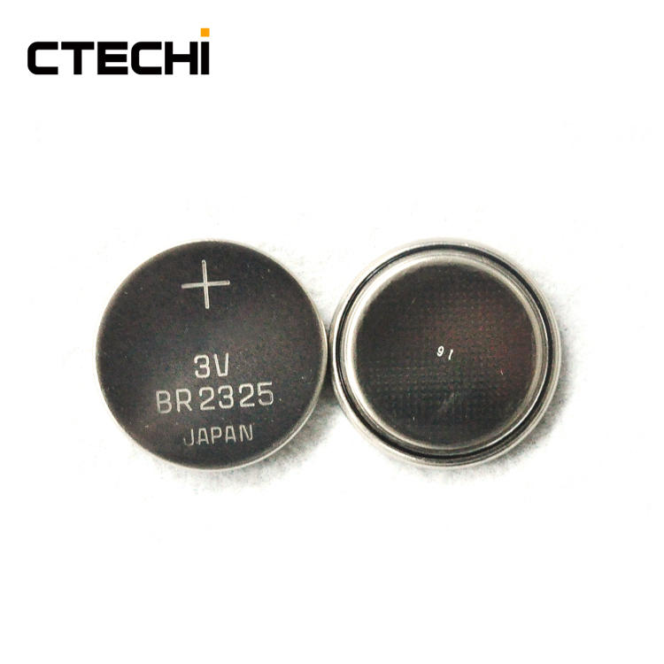 BR2325 3V 165mAh Non-rechargeable Button Cell Temperature Sensor