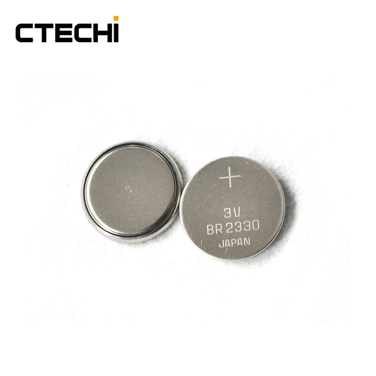 BR2330 3V 255mAh Button Battery for Ocean telemetering system