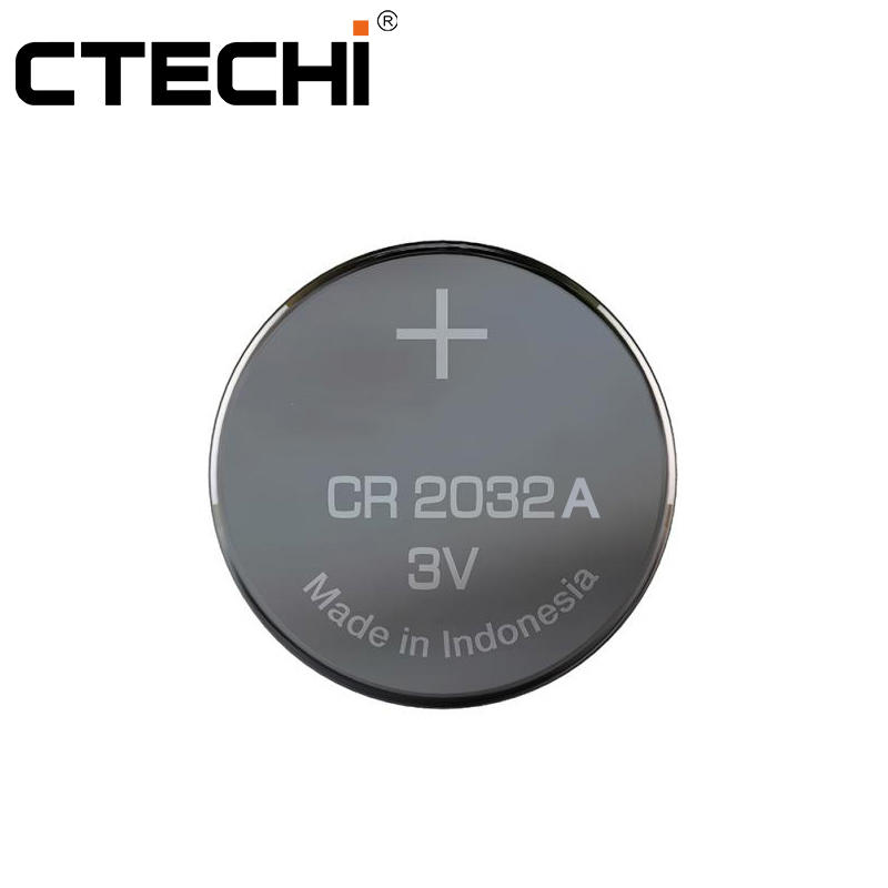 CR2032A 3V 210mAh Wide Temperatures Button Cell for Clock Power