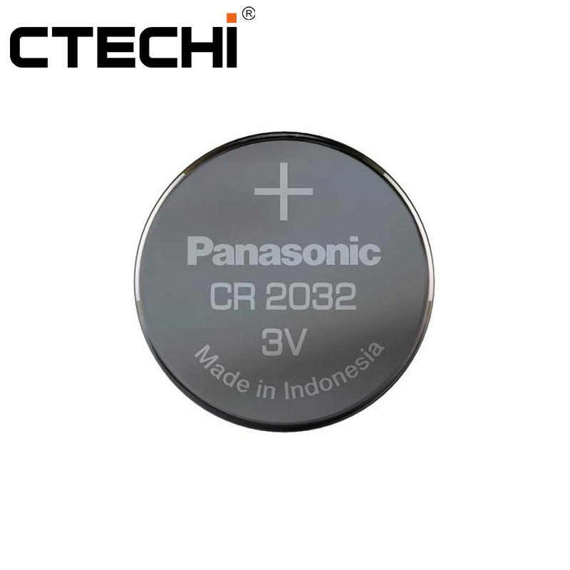 BR2330A 3V 255mAh Wide Temperatures Battery Primary Coin Cell for Panasonic