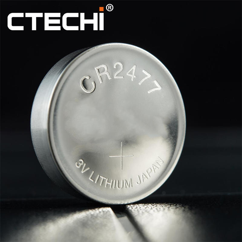 CR2477W 3V 1000mAh Primary Button Cell for Ocean Telemetering System