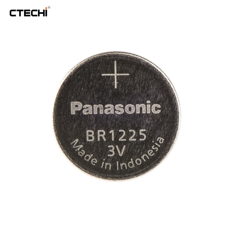 BR1225 Button Battery 3V 48mAh Industrial Motherboard for Panasonic