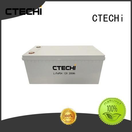 CTECHi capacity lifepo4 batterie series for RV