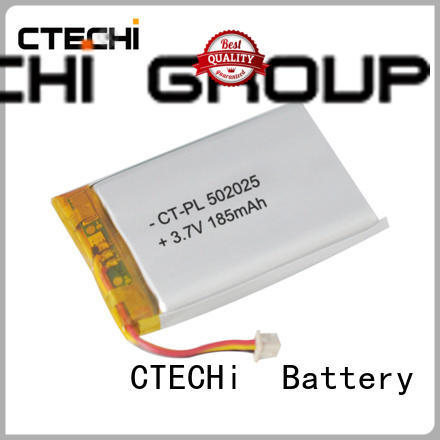 Conventional square lithium ion battery customization PL502025 3.7V