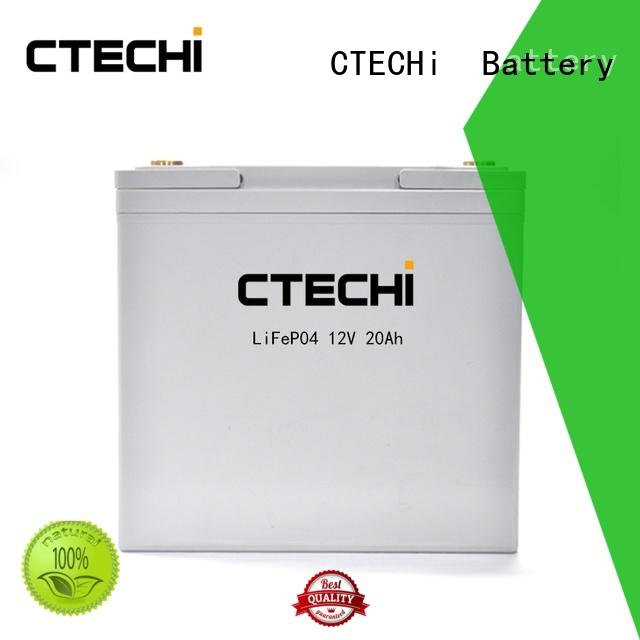 CTECHi durable lifepo4 battery pack customized for travel