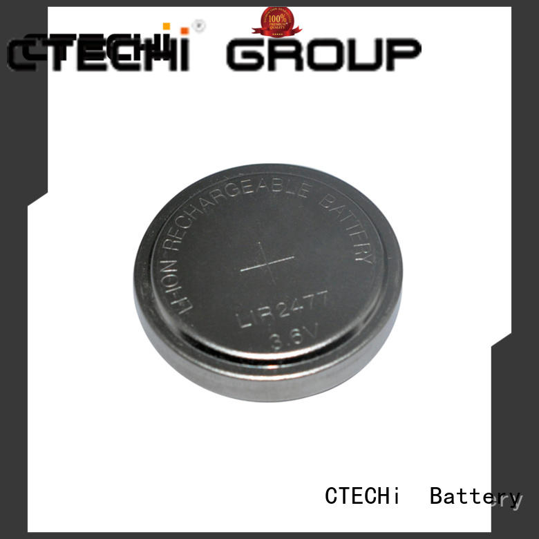 CTECHi rechargeable coin cell design for watch