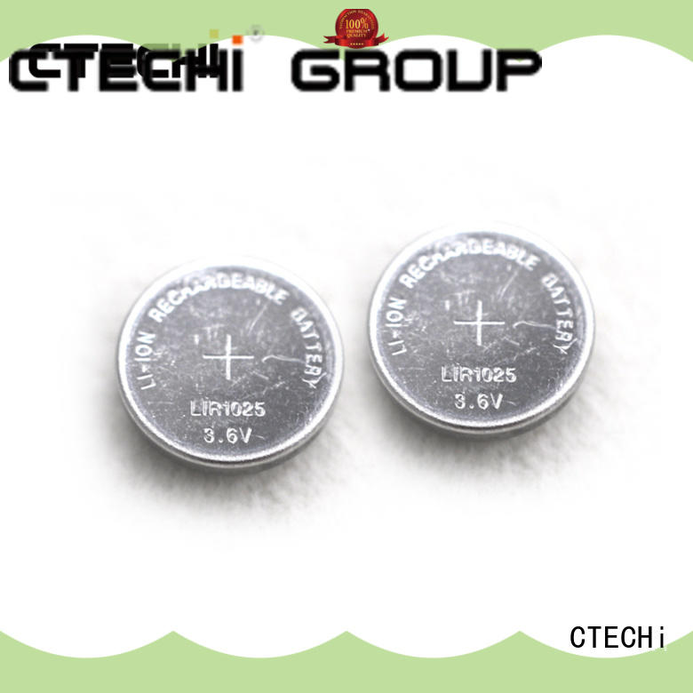 CTECHi electronic rechargeable c batteries design for watch