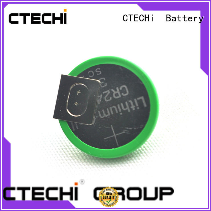 CTECHi lithium coin battery personalized for camera