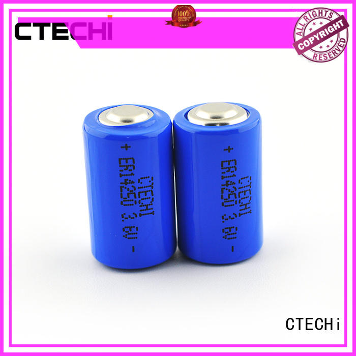 Electric meter high capacity primary battery ER14250