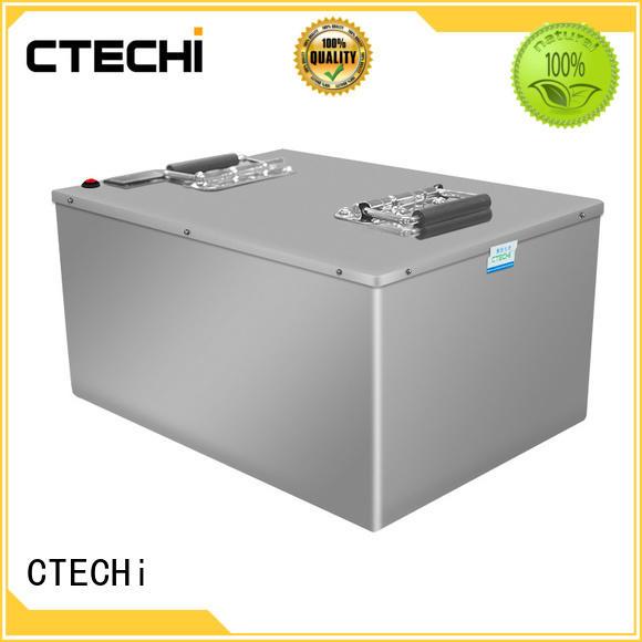 CTECHi 200ah lifepo4 battery 100ah supplier for golf car