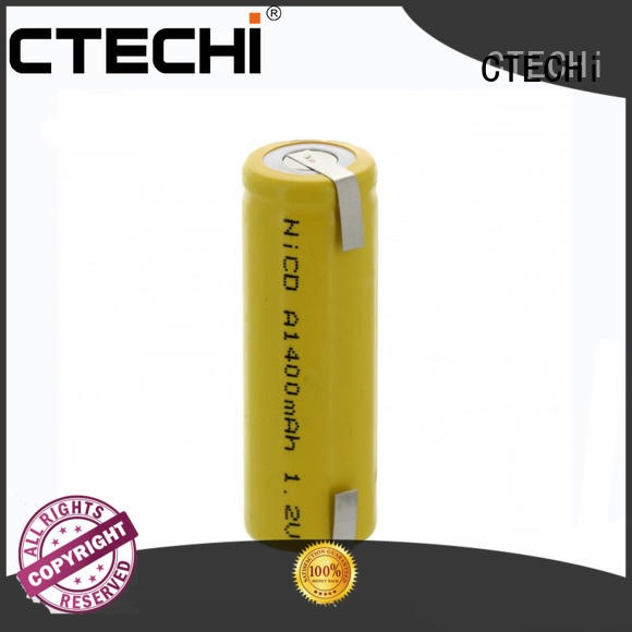 Battery Rechargeable A NiCd 1.2V 1400mAh