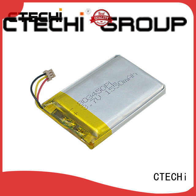 conventional lithium polymer batterie supplier for CTECHi