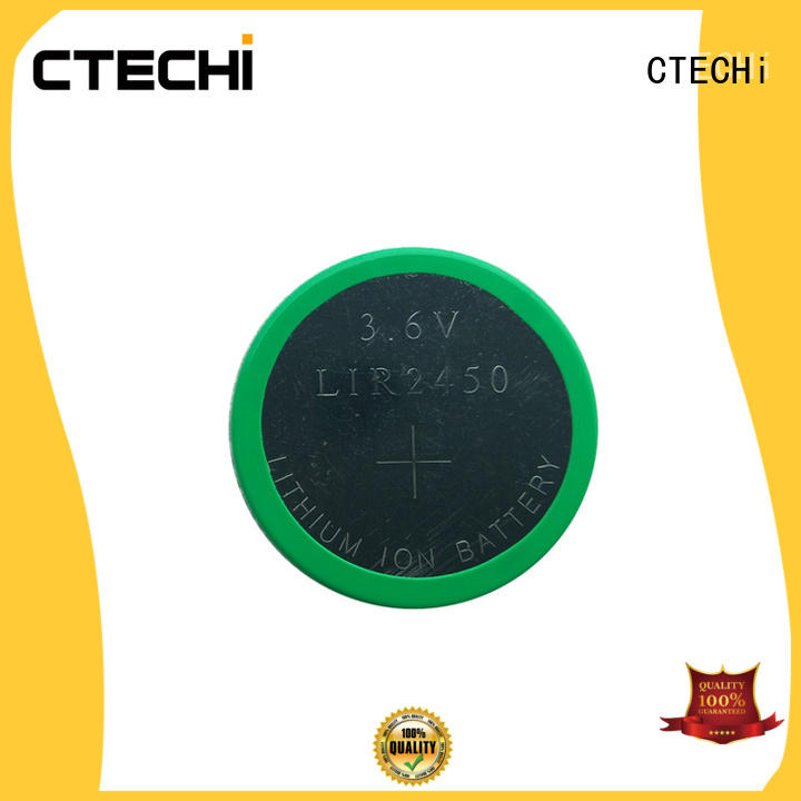 CTECHi charging rechargeable coin cell wholesale for calculator