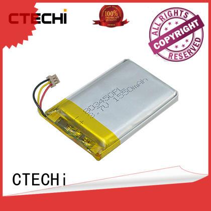CTECHi li-polymer battery series for electronics device