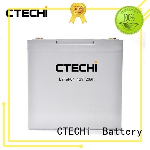lifepo4 battery series for golf car CTECHi