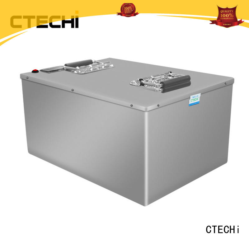 CTECHi pack lifepo4 batterie customized for travel