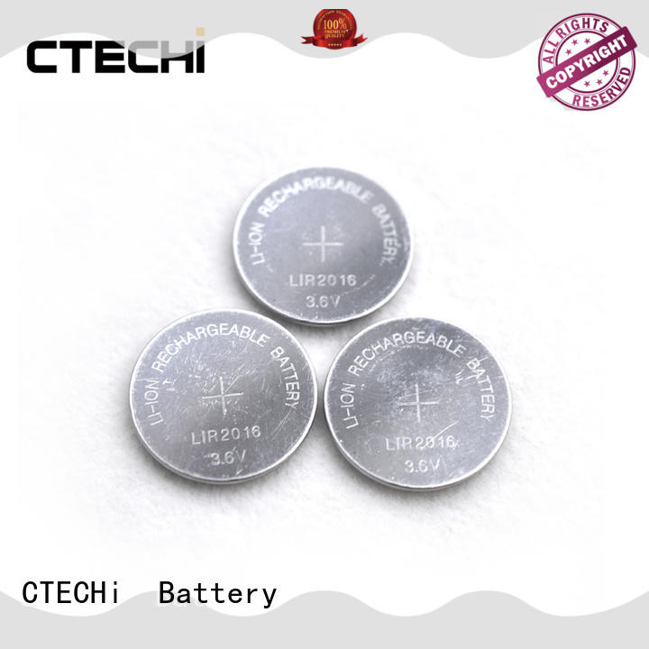 CTECHi electronic rechargeable c batteries manufacturer for car key