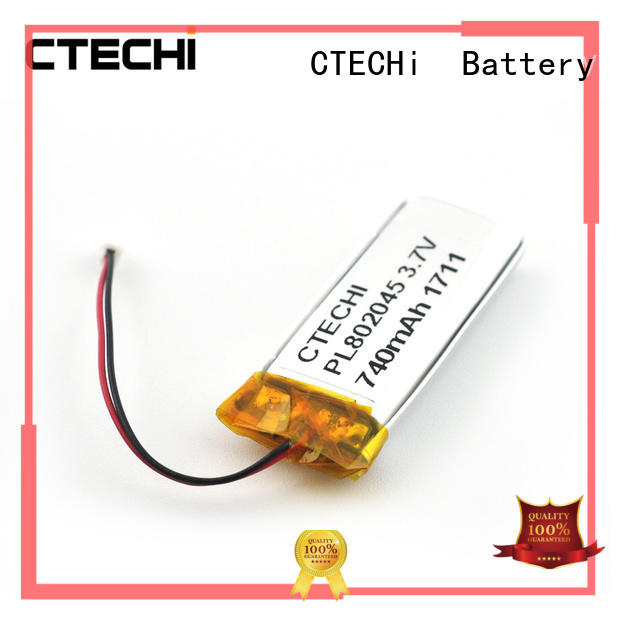 Conventional lithium ion polymer battery PL802045 3.7V
