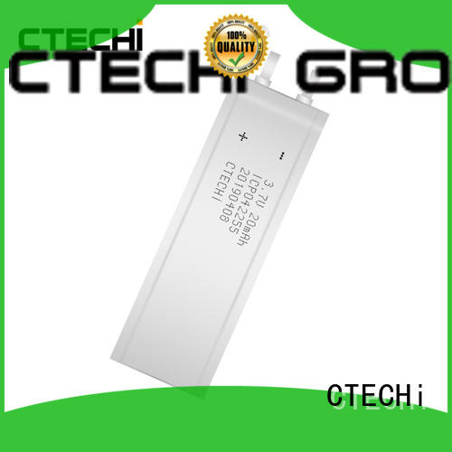 CTECHi 2200mah micro-thin battery series for manufacture