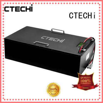 100ah lifepo4 batterie supplier for golf car CTECHi