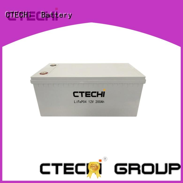 CTECHi lifepo4 batterie supplier for travel