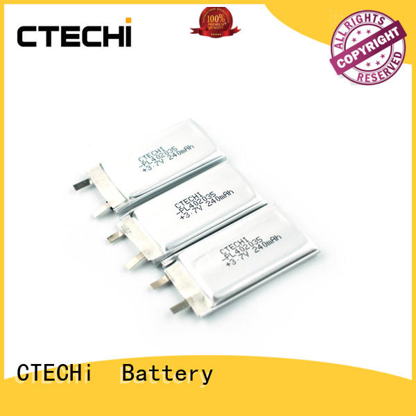 CTECHi smart lithium polymer battery charger series for