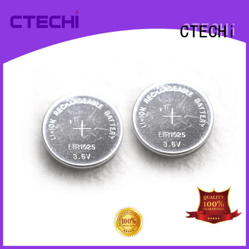 CTECHi charging rechargeable coin batteries factory for car key
