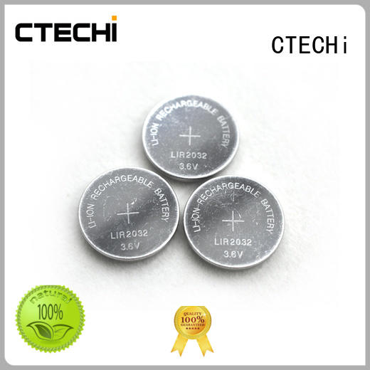 CTECHi rechargeable coin cell factory for watch