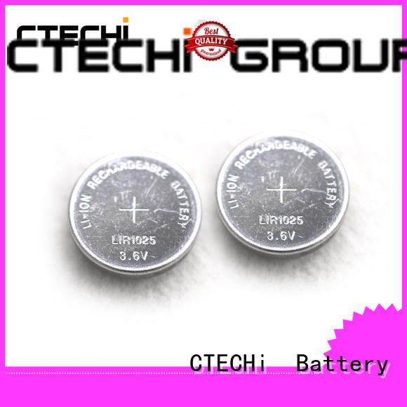small rechargeable button battery manufacturer for watch CTECHi