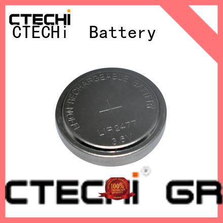 lithium button cell batteries rechargeable power for calculator CTECHi
